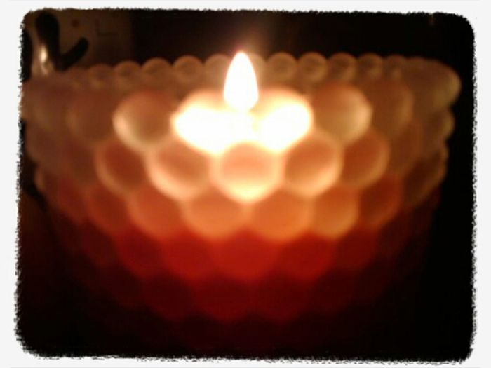 Relaxing Candle Night Lights