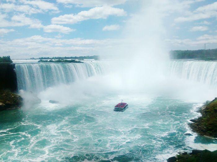 Niágara falls #Canada, Ontario #falls Waterfall Water Outdoors Scenics Adventure