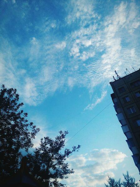 фото город Челябинск небо⛅️