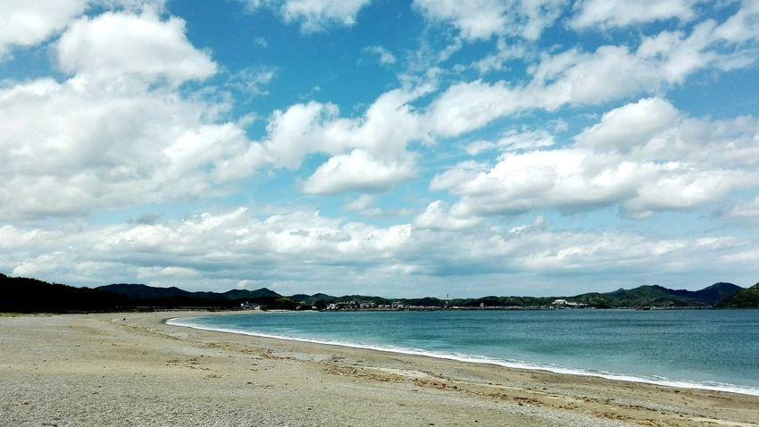 kadogawa Otojima Beach Sea Sand Outdoors Cloud - Sky Landscape Sunny Water Beauty In Nature KYUSHU No People
