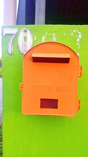 Letter Box Day Sport No People Close-up Outdoors Architecture address Home number House delivery Letter Box Post
