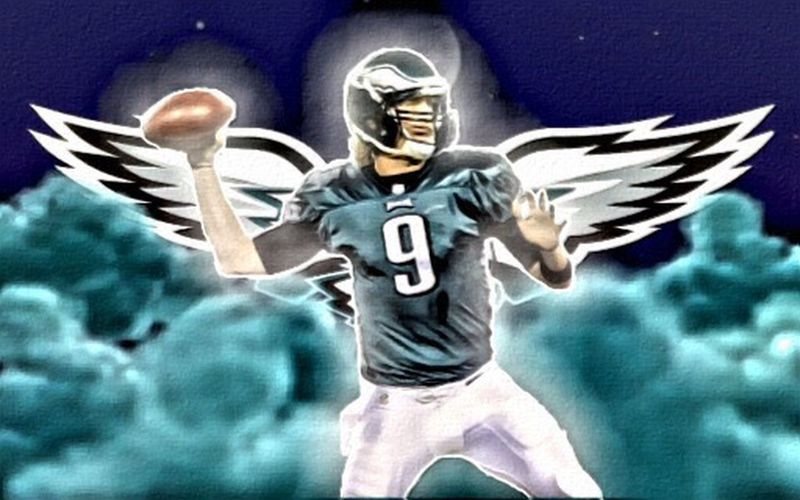 Nick Foles Sports Art Being Creative Philadelphia Eagles