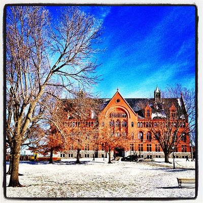 Williams Hall on a Cold Winter Day! #uvm uvmvermont Instagood Instagramhub Captureeuphoria Architecture Webstagram Igersnewengland Igaddict Winter Ic_landscapes Iphoneonly Ig_newengland Photooftheday Vt Iphonesia Uvm Picoftheday Vermont_scenery Vermont Insta_america 802 All_shots Instagramvt Instamood Igharjit Bestoftheday Vermontbyvermonters Igvermont IGDaily Vt_landscape