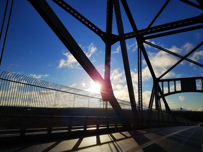 capture time. Findingmoments Daydreamer Shoot2kill Manifesthappiness Capturetimephotography Lightroom Nikonpros Sky Bridge - Man Made Structure Built Structure Low Angle View Outdoors Architecture Sunlight Day No People Nature