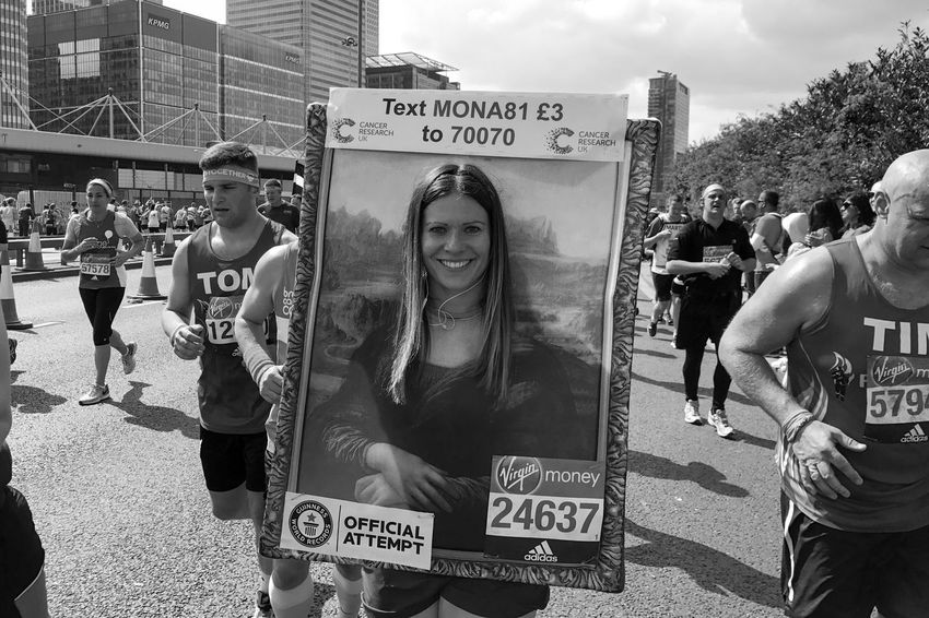 London Marathon 2017 London Marathon 2017 London Marathon Black And White London Runners