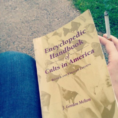 Some light reading material. Cults Book