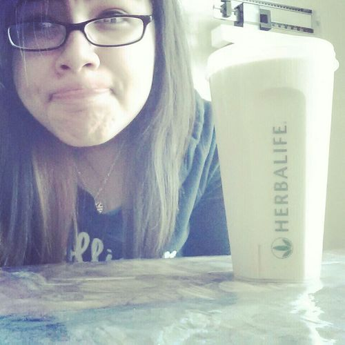 Drinking Herbalife c: ♥