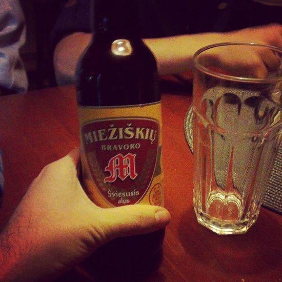 Mieziskiu - отличное литовское пиво, можно выпить в Киеве даже. Klaipeda Alus