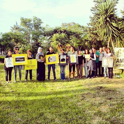 Amnesty au sitin FreeJabeur