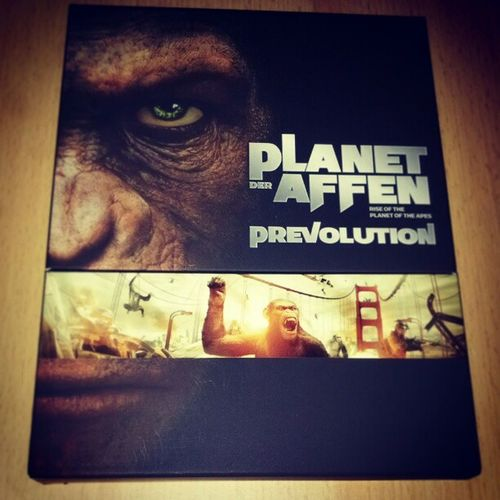 Nr. 66 in der Sammlung: Planet of the Apes: Rise of the Apes Collectors Edition Bluray Jamesfranco Andyserkis