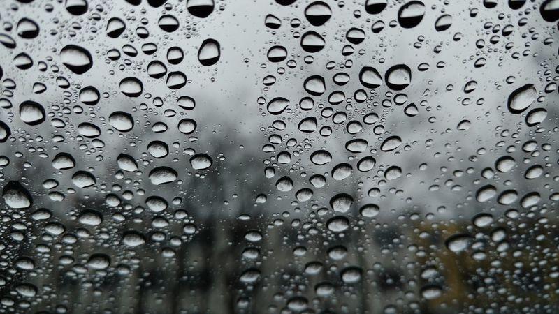 Rainy Days Rainy Day Water On Window Water On Car Window Water Rain On Car Window Rain On Window Rain Drops Rain Close-up Close Up Closeup