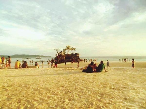 Beach And Sky Beach Photography Life Is A Beach Landscape Sun ☀ @Boracay island,Philippines