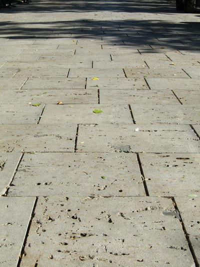 High Angle View No People Stadt City Burgos Spanien SPAIN Gehsteig Sidewalk Pattern Stein Stone Pavement Pavement Patterns