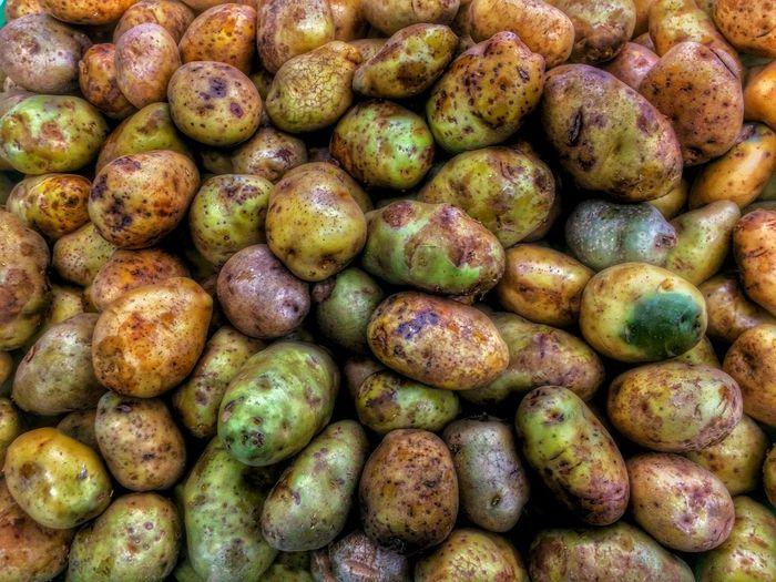Potato Close-up