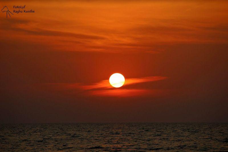 Beach Sunset Kundapura