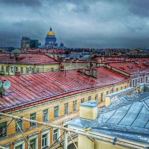 Крыши Санкт-Петербурга СанктПетербург отпуск