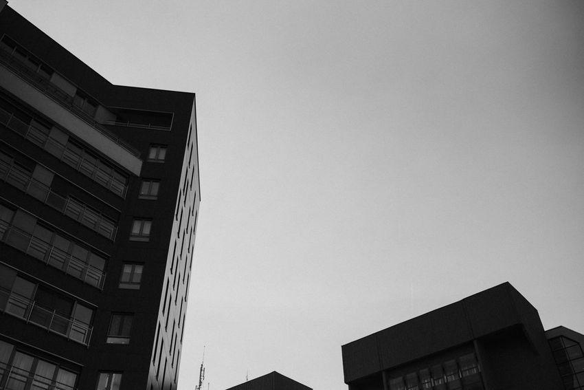 Belgrade Belgrade,Serbia Black & White Serbia Architecture Belgrade City Belgradestreets Blackandwhite Built Structure Bulding And Sky