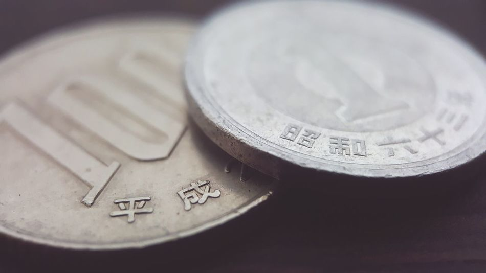 Japan Yen Coins 100yen 1yen