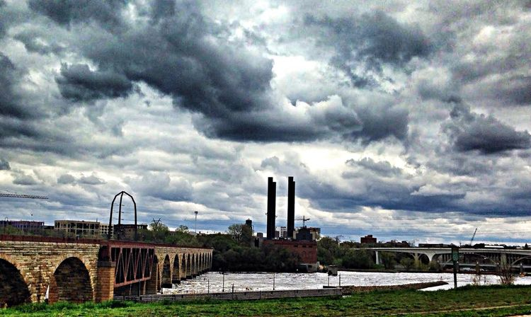 Mill Ruins Park Minneapolis DowntownMPLS Mississippi River St. Anthony Main Urban Photography Urban Landscape Cityscapes Clouds And Sky Urbanphotography