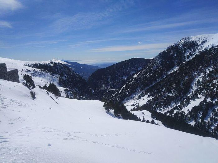 Mountain Muntanyes Catalunya Valldenuria Snow ❄ Snow Neu Winter Sport Ski Holiday Skiing