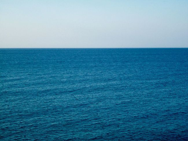 Beauty In Nature Blue Blue Background Calm Sea Clear Blue Sky And Sea Clear Blue Water Copy Space Day Horizon Over Water Idyllic Light Blue Nature No People Outdoors Rippled Scenics Sea Sky Sunlight Tranquil Scene Tranquility Water Waterfront Sommergefühle