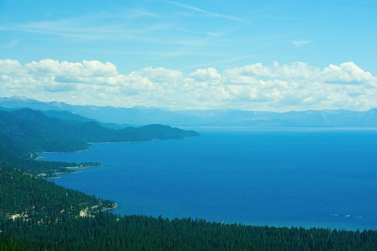 Lake View Lake Mountain View Mountain Summertime