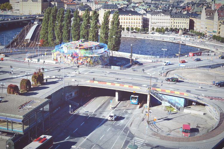 Stockholm 5/10 - Slussen II - Highway Interchange  Gritty Urban Demolition Zone