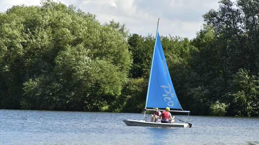 Transportation Outdoors Broxbourne Sailing Club Real People Water Sailing Club Sailing Boats Nautical Vessel Sailing Lake Beauty In Nature Togetherness Adventure Leisure Activity People Sport