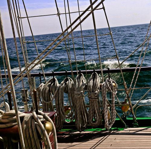 Green Tall Ships Belaying Pin Rails Brass Horizon Over Water Nature Nautical Vessel Outdoors Rail Sailing Sea Tall Ship Details Water
