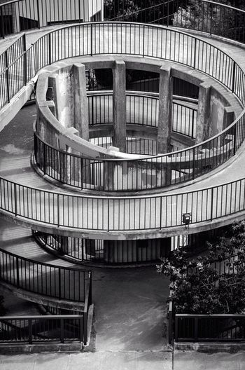 Spiraling down. Precision Architecture Light And Shadow Urban Geometry Walking Around