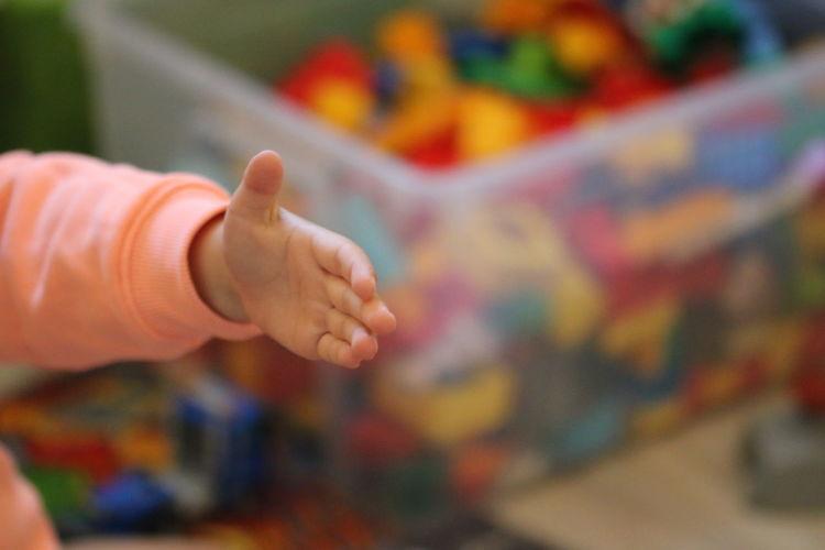 Hand Kinderhand
