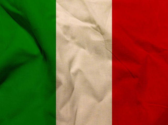 Italian flag Close-up Day Fabric Green Color Indoors  Italy Italy Flag Low Section Nation No People Red Rome Rome Italy State Textile