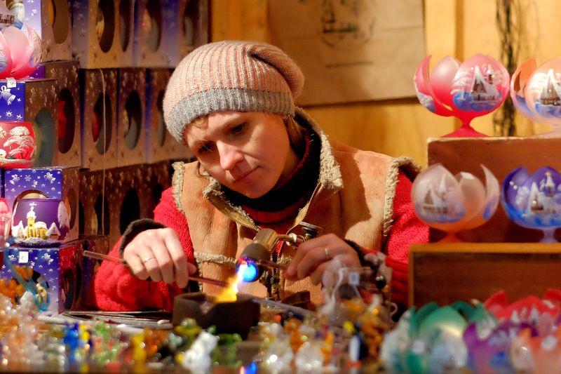 The Portraitist - 2017 EyeEm Awards Christmas Decoration Fabricator Luxembourg Christmas 2016 Glass Ornaments Tree Ornaments