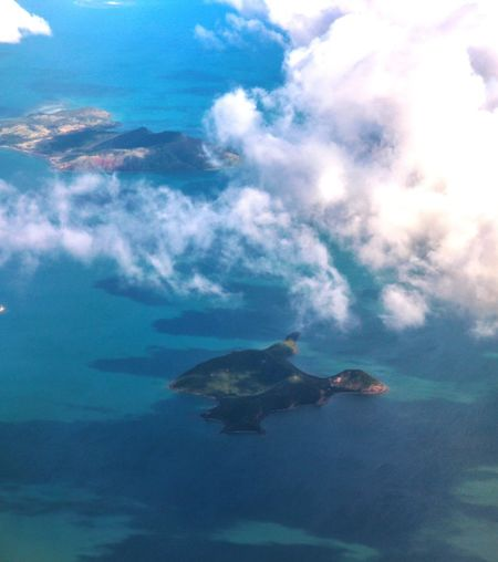 Flying From An Airplane Window Ocean Ocean View Horizon Over Water Flying Landscape Travel Traveling EyeEm Nature Lover EyeEm Gallery Naturelovers Nature_collection Nature Seascape Landscapes Landscape_Collection Aerial Island New Caledonia Nouvelle Calédonie Nature Photography Aerial View Water Sea Sky