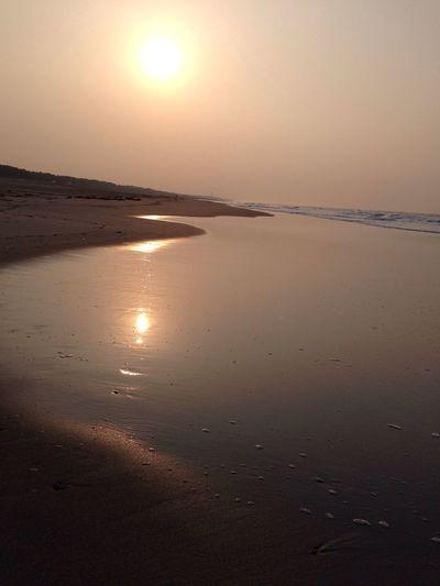 おはよう〜ございます。晴れ〜 Beach