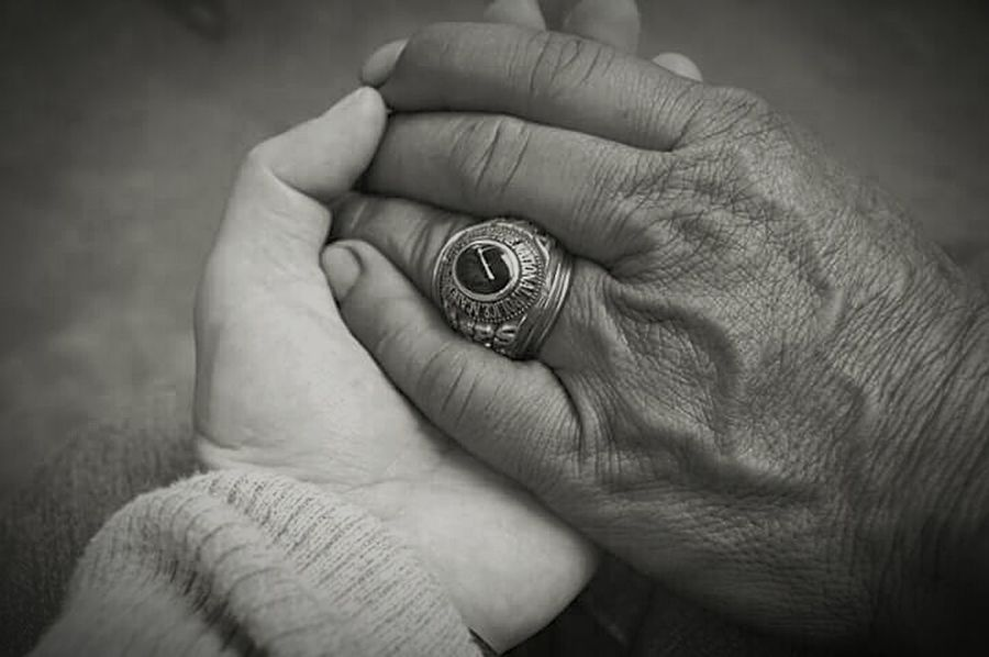 Close-up Ring Father And Daughter Respect And Honor Moments Of My Life Prouddaughter Holding Hands Ilovemydaddy Meaningfulpict Hardworking Man