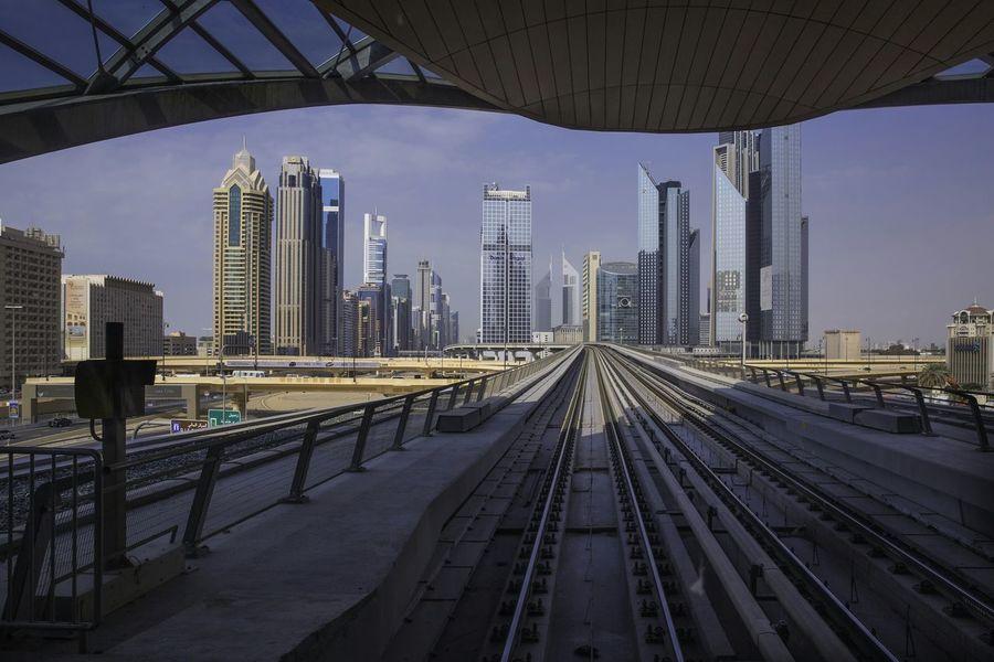Lines and Towers Dubai Dubai cityscape, Sky Scrapers Towers