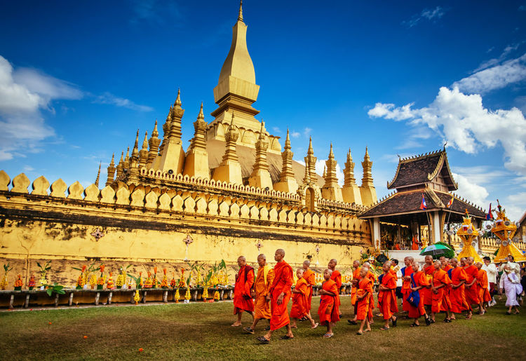 Showcase: January Buon That Luang - Vientiane, Laos Good Times Journey