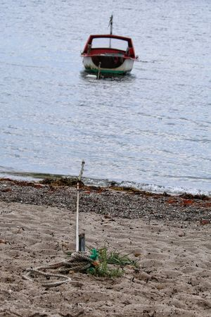 Boat Tied Tied Knot Water Nautical Vessel Day Moored Outdoors Sea No People Beauty In Nature Beach Talking Photos