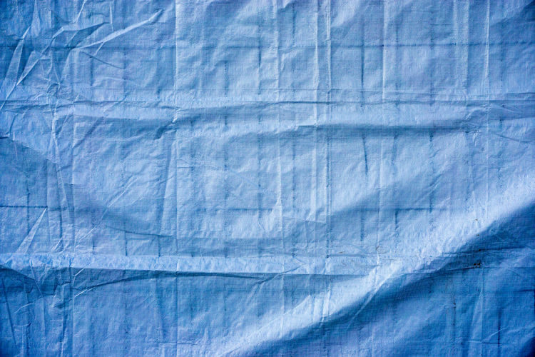 Full frame shot of tarpaulin