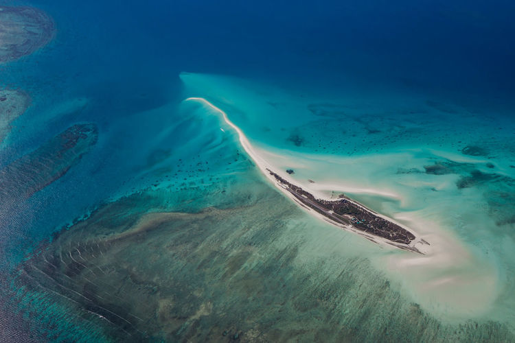 Adventure Aerial View Africa, Mozambique Beauty In Nature Blue Islands Quirimbas Scenics Water