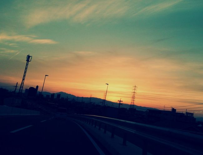 Road Sky Skyporn Steel TowerLC また明日*('-'*)♪