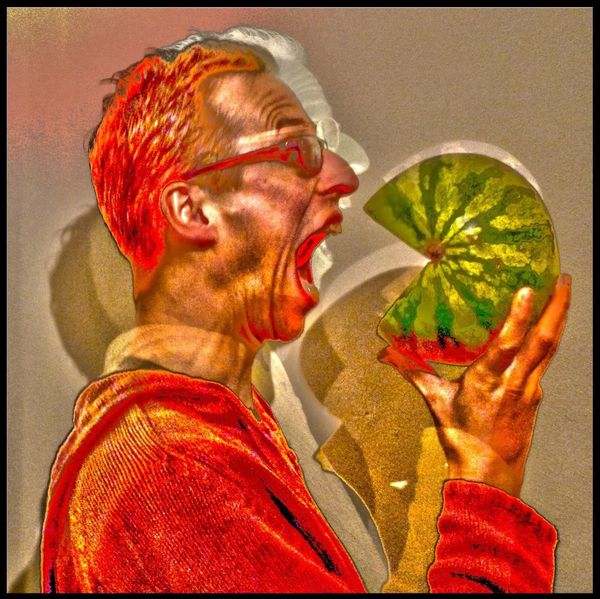 That's Me Melon Food Photography Photoshop My avatar for many websites, including my SoundCloud.