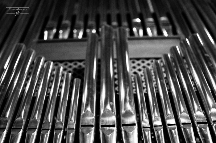 Cattedrale di Casertavecchia Backgrounds Close-up Equipment Focus On Foreground Full Frame In A Row Indoors  Large Group Of Objects Machinery Metal Music Musical Instrument No People Pattern Repetition Rod Selective Focus Side By Side Silver Colored Steel Still Life