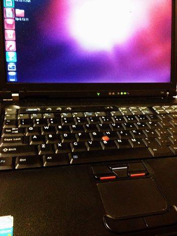 ThinkPad T41 古いマシンですが、私のメインマシンです。Ubuntu12.04なら快適。