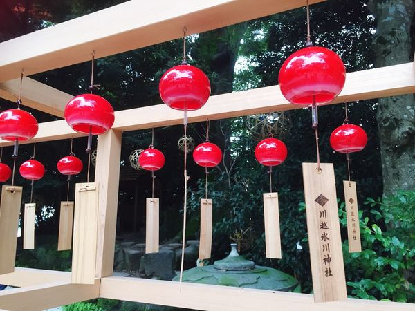 Hanging Red Outdoors Cultures Lantern Multi Colored Architecture Day Built Structure No People Building Exterior アナタニシアワセが訪れますように