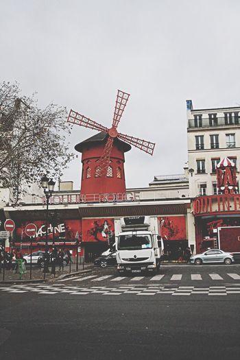 France Paris Moulin Rouge