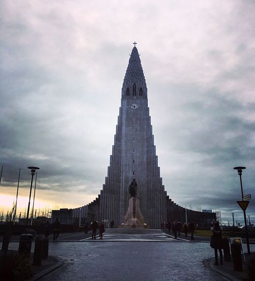The Hallgrímskirkja is the tallest building in Reykjavik at 74.5m and it's the 6th highest structure in Iceland. It was designed by G. Samuelsson in 1937 and took 41 years to build. Sky Built Structure Architecture Religion Cloud - Sky Travel Destinations Spirituality Sky And Clouds Sightseeing Eye4photography  Building Exterior Outdoors Tourism Architectural Detail Day Cityscape Urban Geometry Reykjavik Hallgrìmskirkja