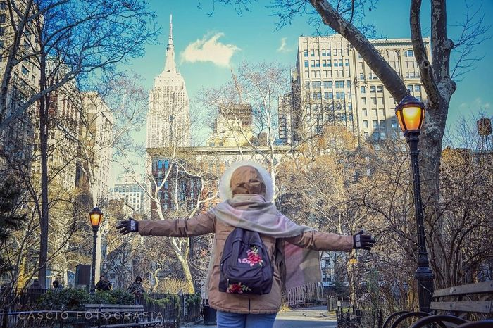 Shooting in Madison Square Park Cascio_photography Madison Square Park  Clear Sky Tree City Portrait Standing Front View Sky Architecture Building Exterior First Eyeem Photo