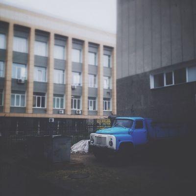 Omsk город осень Дождь